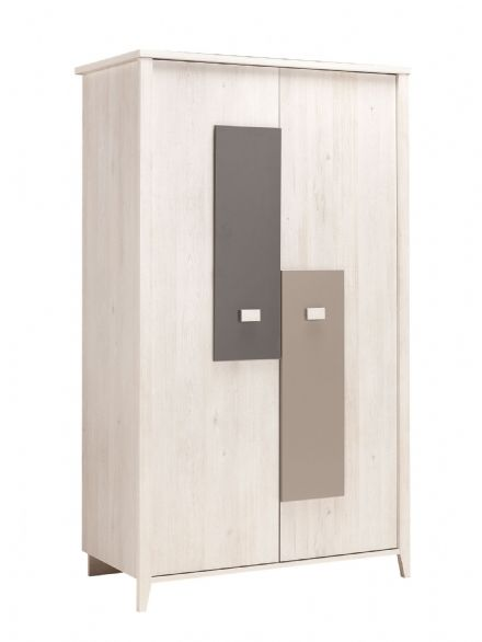 Charly Customisable 2 Door Wardrobe